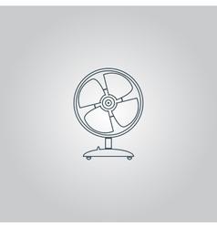 table fan - vector image