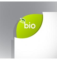 Bio sign vector