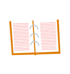 blank clipboard clipboard with blank white paper vector image