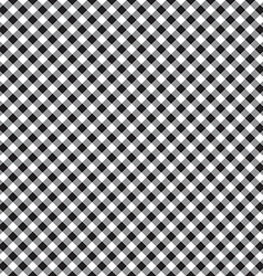 Checked plaid fabric seamless pattern vector