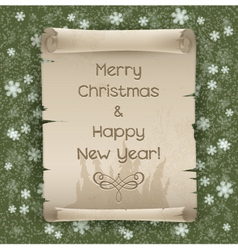 congratulations to christmas and new year vector image