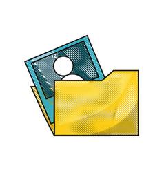 document folder design concept vector image