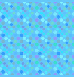 geometrical seamless circle pattern background vector image