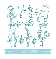 graphics animals vector image