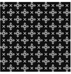seamless hipster abstract geometric pattern line vector image