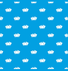 wedding invitation cards pattern seamless blue vector image