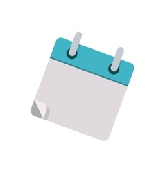 small book for notes with rings vector image