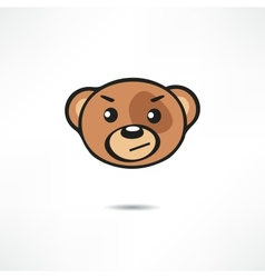 Grinning Bear vector image vector image