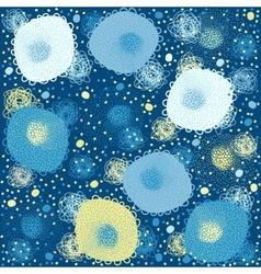 Background children blue vector image