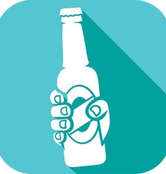 Beer Bottle Icon vector
