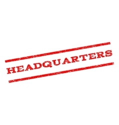 Headquarters Watermark Stamp vector