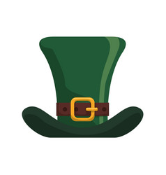 irish elf hat vector image
