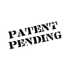 Patent pending rubber stamp vector
