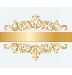 Royal imperial classic ornament vector image