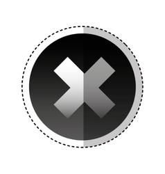 Screw tool repair service icon vector