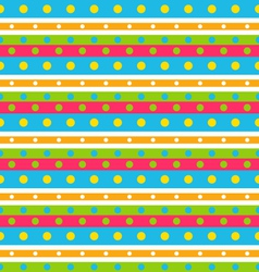 seamless geometric pattern with stripes and vector image