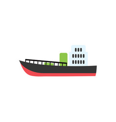 ship graphic design template isolated vector image