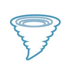 Tornado icon image vector