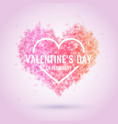 Valentine day february 14 original and vector