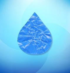 Water Drop vector image vector image