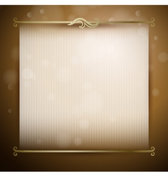 background with classic decor vector image