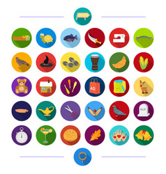 animal tourism building and other web icon in vector image