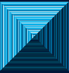 Blue pyramid background vector