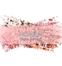 creative background design hand drawn pink vector image