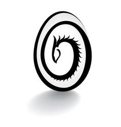 dragon egg vector image