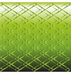 Green Metal grid background vector