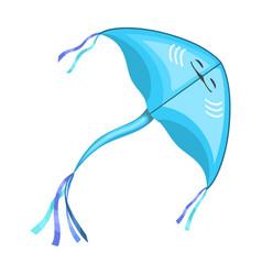 Kite fish iconcartoon icon isolated vector