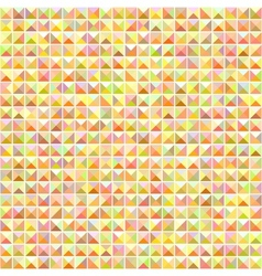 Orange seamless mosaic pattern vector