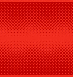 Red abstract halftone dot pattern background vector