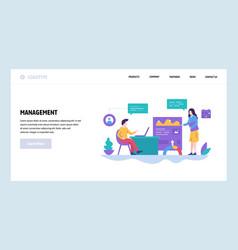 Web site design template business vector