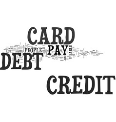 When the plastic debt is gone text word cloud vector
