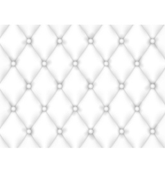 White Leather Upholstery Background vector