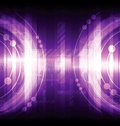 violet abstract background design vector image vector image