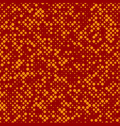 chaotic halftone circle pattern background from vector image