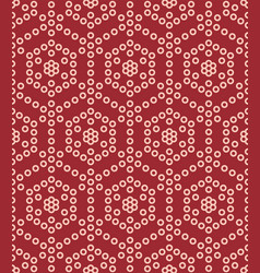 circle geometric japanese seamless pattern vector image