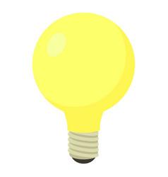 Light bulb icon cartoon style vector