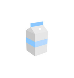 milk graphic design template isolated vector image