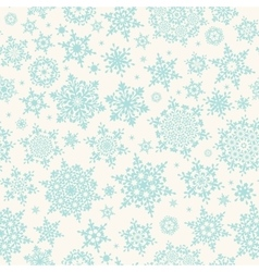 Seamless winter retro pattern EPS 10 vector image