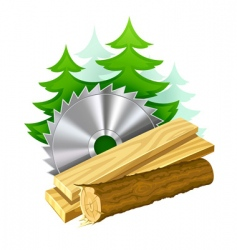 woodworking industry icon vector image vector image