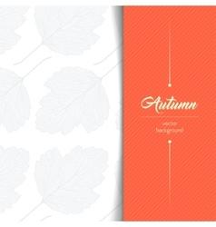 Autumn typographic vector image