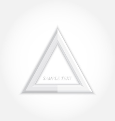 3d abstract background and triangle icon design vector