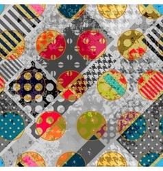 Abstract polka dots background vector