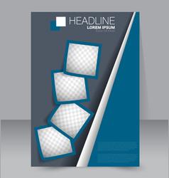 Brochure template Business flyer vector