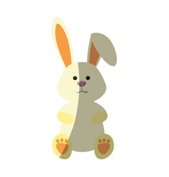 bunny animal nature vector image