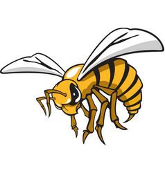 Hornet logo mascot vector