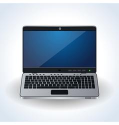 Modern laptop icon vector